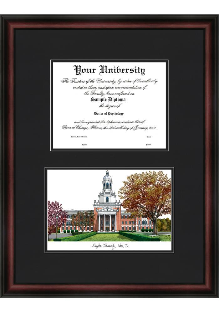 Baylor Bears Diploma Picture Frame - Image 1