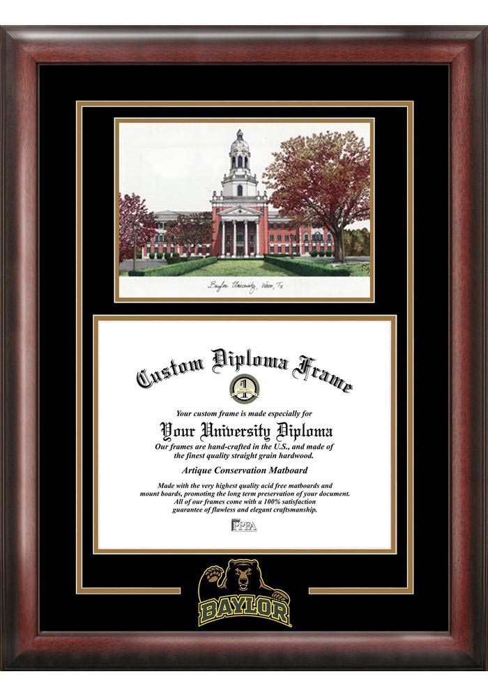 Baylor Bears Diploma Picture Frame - Image 2