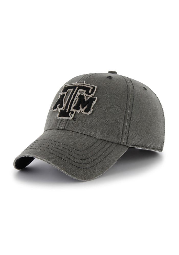 '47 Texas A&M Aggies Mens White Palmetto Franchise Fitted Hat - Image 1