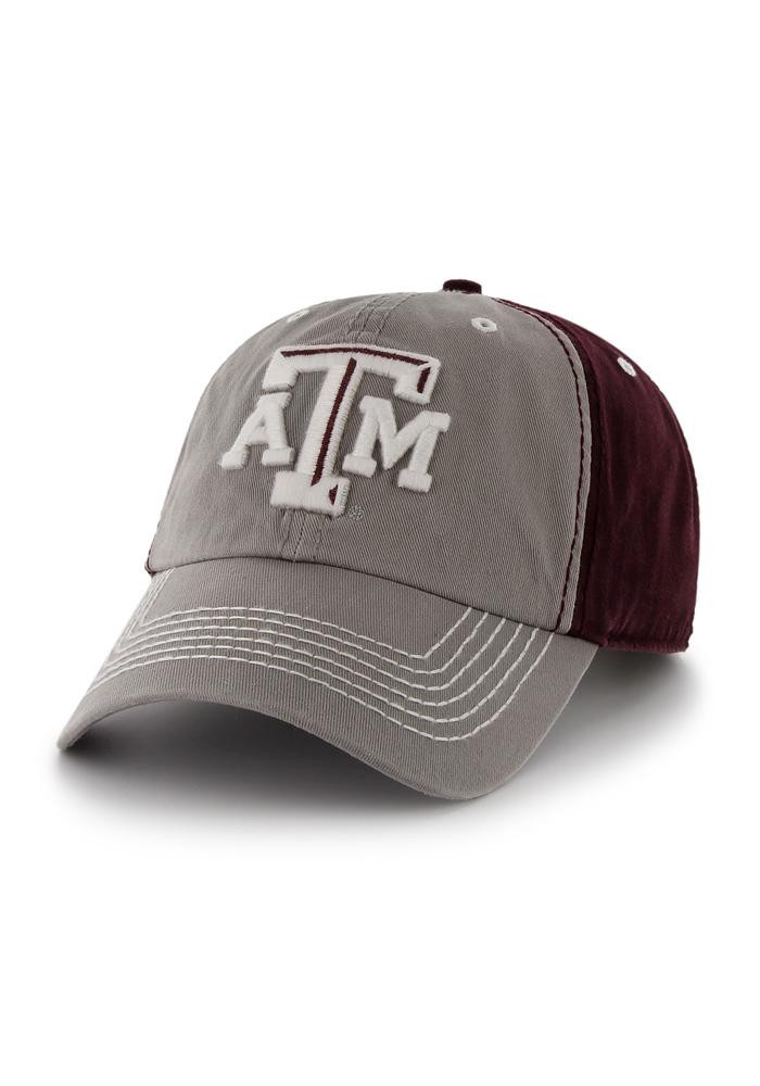 '47 Texas A&M Aggies Mens Maroon Phase Adjustable Hat - Image 1