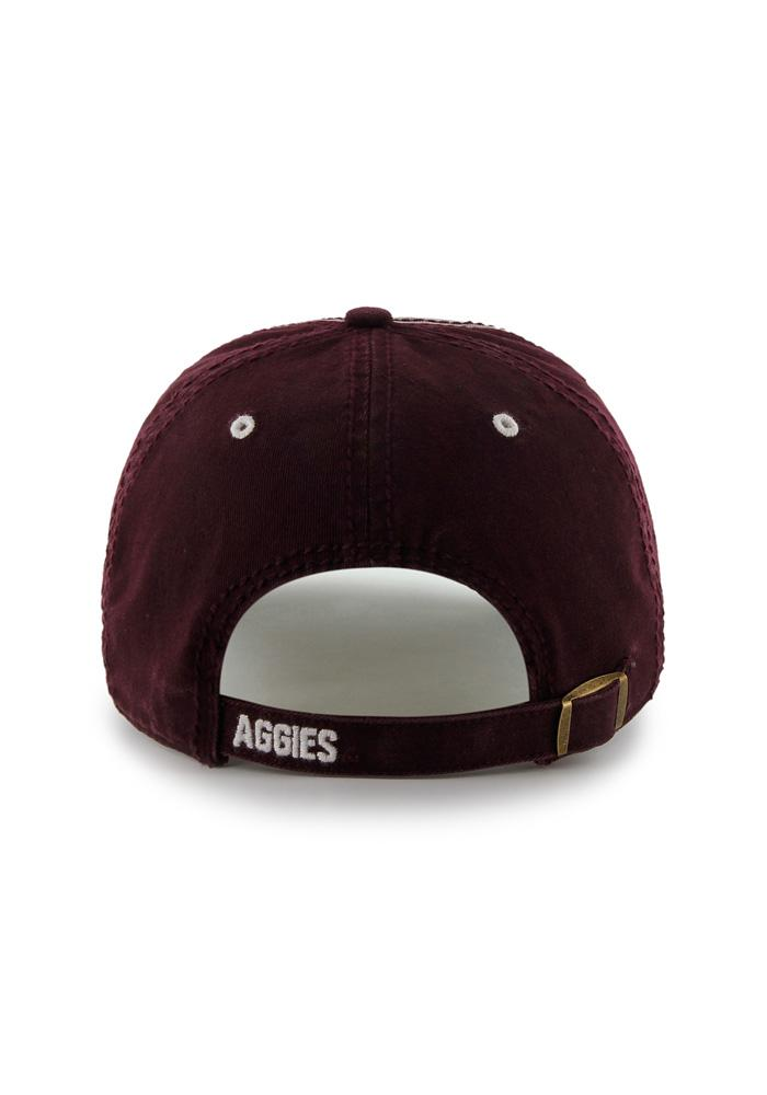 '47 Texas A&M Aggies Mens Maroon Phase Adjustable Hat - Image 2