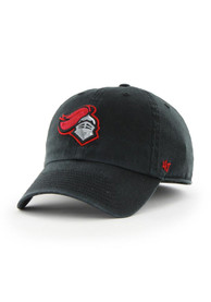 Rutgers Scarlet Knights 47 Black Franchise Fitted Hat