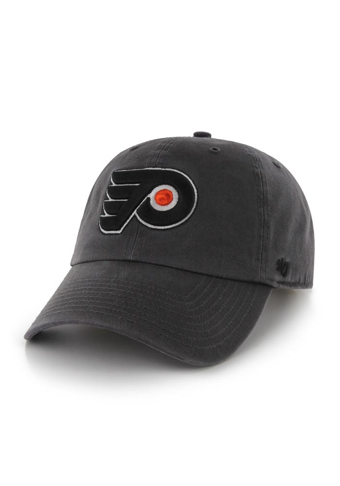 0a9ab74f96e  47 Philadelphia Flyers Grey Clean Up Adjustable Hat