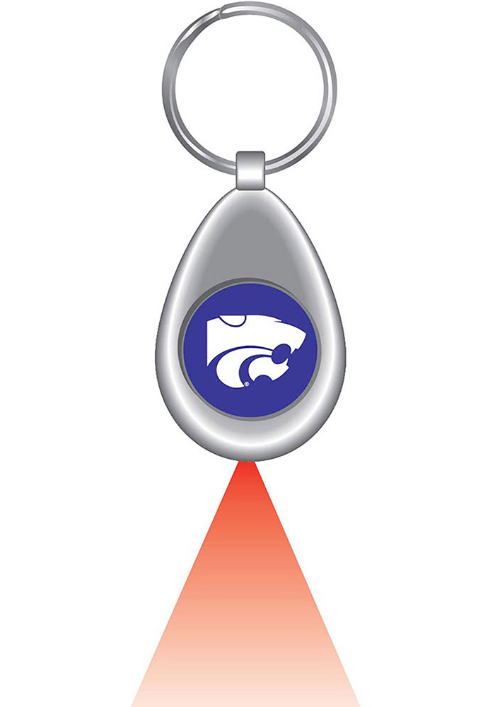 K-State Wildcats Red LED Light Keychain - Image 1