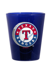 Texas Rangers 2oz Blue Logo Shot Glass