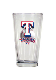 Texas Rangers 16oz Baseball Logo Pint Glass