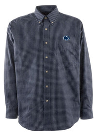 Antigua Penn State Nittany Lions Navy Blue Esteem Dress Shirt
