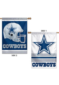 Dallas Cowboys 28x40 2 Sided Silk Screen Sleeve Banner