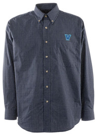 Villanova Wildcats Antigua Esteem Dress Shirt - Navy Blue