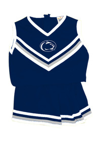 Penn State Nittany Lions Girls Navy Blue Youth 6-10 Mascot Cheer Set