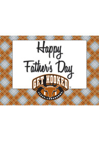 Texas Longhorns Fathers Day Card