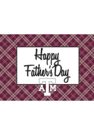 Texas A&M Aggies Fathers Day Card