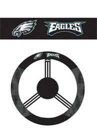 Philadelphia Eagles Poly-Suede Auto Steering Wheel Cover