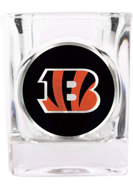 Cincinnati Bengals 2oz Square Emblem Shot Glass