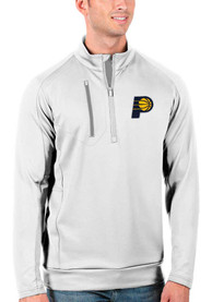 Indiana Pacers Antigua Generation 1/4 Zip Pullover - White
