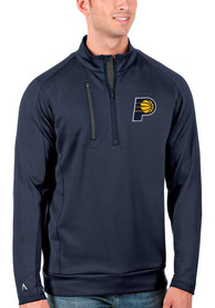 Indiana Pacers Antigua Generation 1/4 Zip Pullover - Navy Blue