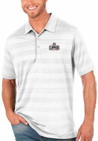 Los Angeles Clippers Antigua Compass Polo Shirt - White