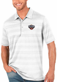 New Orleans Pelicans Antigua Compass Polo Shirt - White