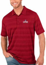 Los Angeles Clippers Antigua Compass Polo Shirt - Red