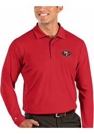 San Francisco 49ers Antigua Tribute Polo Shirt - Red