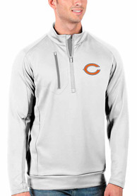 Chicago Bears Antigua Generation 1/4 Zip Pullover - White