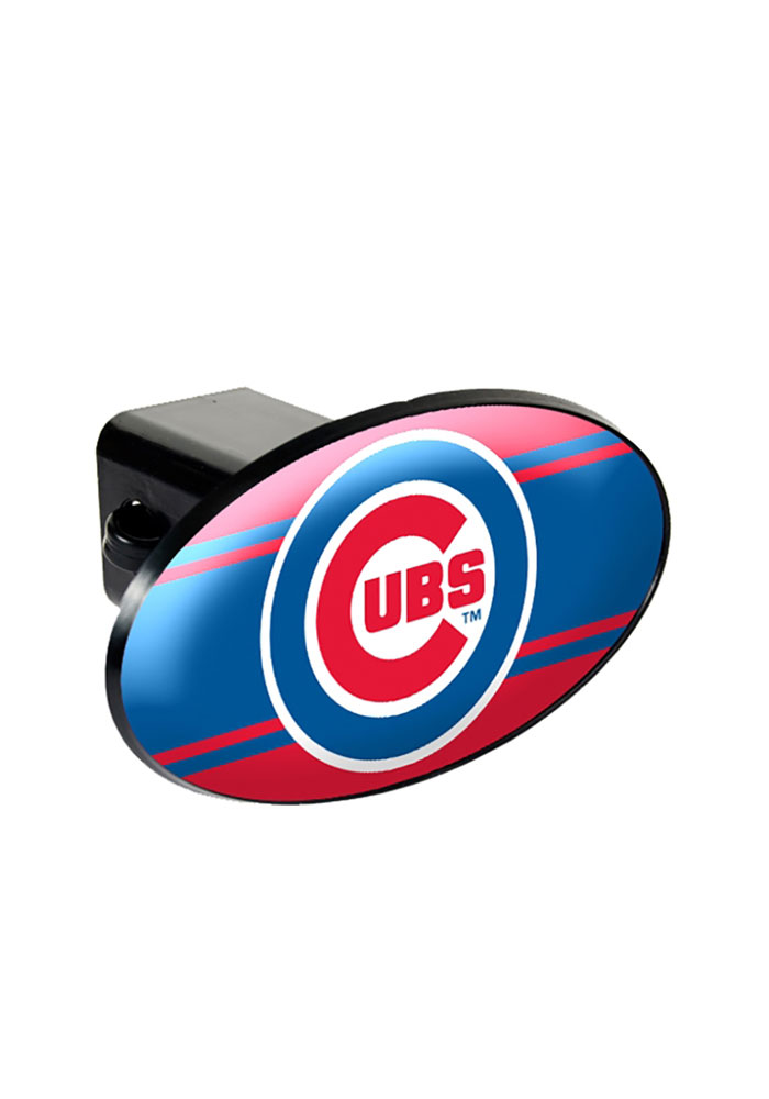 Chicago Cubs Plastic Oval Car Accessory Hitch Cover 1330201
