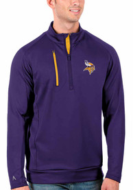 Minnesota Vikings Antigua Generation 1/4 Zip Pullover - Purple