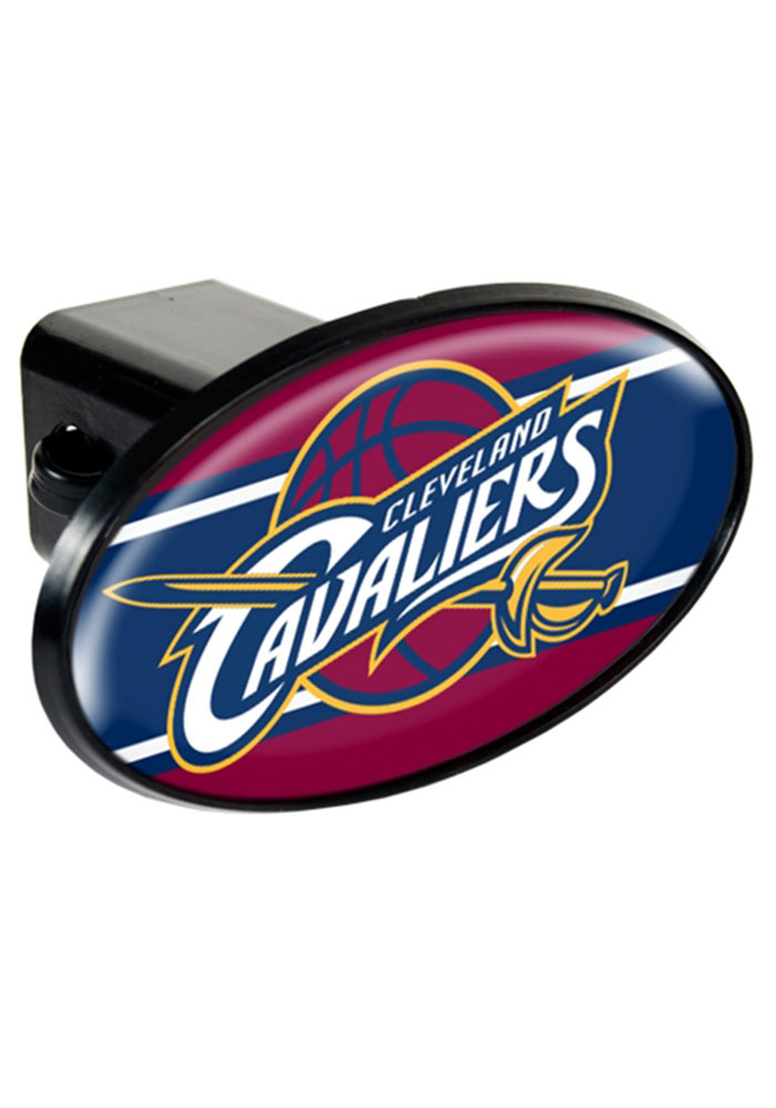 Cleveland Cavaliers Oval Car Accessory Hitch Cover - Image 1