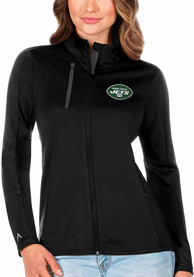 New York Jets Womens Antigua Generation Light Weight Jacket - Black