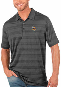 Minnesota Vikings Antigua Compass Polo Shirt - Grey