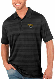 Jacksonville Jaguars Antigua Compass Polo Shirt - Black