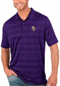 Minnesota Vikings Antigua Compass Polo Shirt - Purple