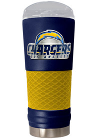 Los Angeles Chargers 24oz Powder Coated Stainless Steel Tumbler - Blue