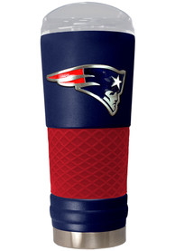 New England Patriots 24oz Powder Coated Stainless Steel Tumbler - Blue