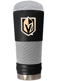 Vegas Golden Knights 24oz Powder Coated Stainless Steel Tumbler - Black