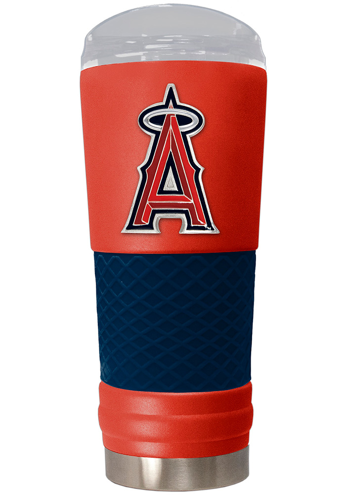 Los Angeles Angels 24oz Powder Coated Stainless Steel Tumbler - Red - Image 1