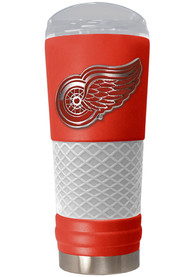 Detroit Red Wings 24oz Powder Coated Stainless Steel Tumbler - Red