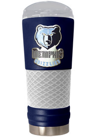 Memphis Grizzlies 24oz Powder Coated Stainless Steel Tumbler - Blue