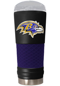 Baltimore Ravens 24oz Powder Coated Stainless Steel Tumbler - Black