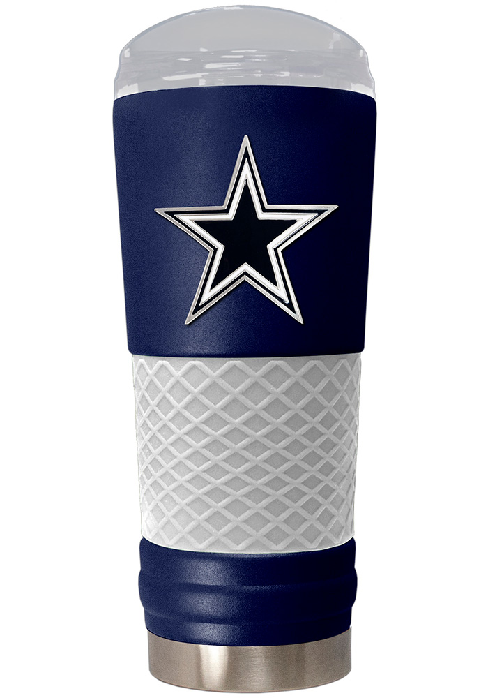 Dallas Cowboys 24oz Powder Coated Stainless Steel Tumbler - Blue - Image 1