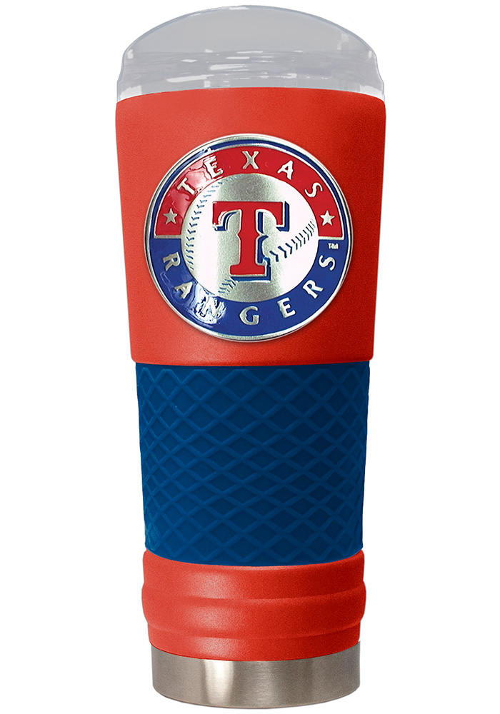 Texas Rangers 24oz Powder Coated Stainless Steel Tumbler - Red - Image 1
