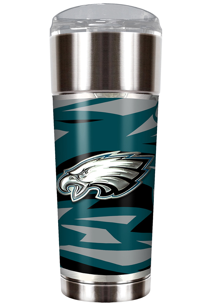 Philadelphia Eagles 30oz Stainless Steel Tumbler - Silver - Image 1