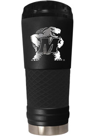 Maryland Terrapins Stealth 24oz Powder Coated Stainless Steel Tumbler - Black