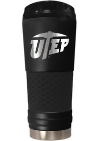 UTEP Miners Stealth 24oz Powder Coated Stainless Steel Tumbler - Black