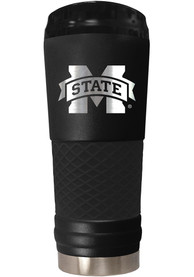 Mississippi State Bulldogs Stealth 24oz Powder Coated Stainless Steel Tumbler - Black