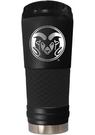 Colorado State Rams Stealth 24oz Powder Coated Stainless Steel Tumbler - Black