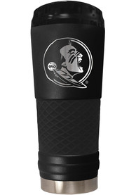 Florida State Seminoles Stealth 24oz Powder Coated Stainless Steel Tumbler - Black