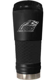 New Mexico Lobos Stealth 24oz Powder Coated Stainless Steel Tumbler - Black