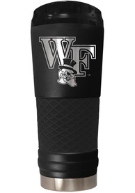 Wake Forest Demon Deacons Stealth 24oz Powder Coated Stainless Steel Tumbler - Black