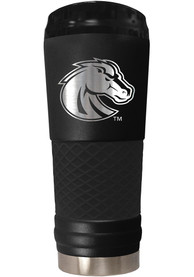 Boise State Broncos Stealth 24oz Powder Coated Stainless Steel Tumbler - Black